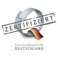 Service Qualität Deutschland zertifiziert